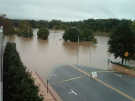 roads flooded
