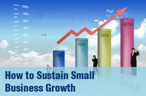 how to sustain small business growth