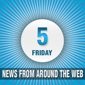 news from around the web logo, friday five