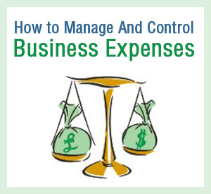 how to manage and control business expenses