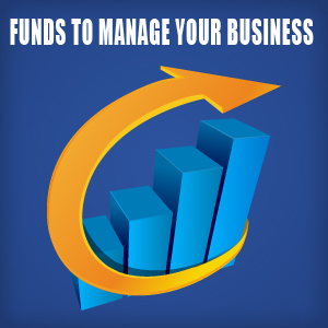 funds to manage your business logo
