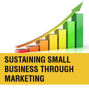sustaining small business through marketing and graph