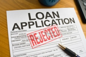 business loan application rejected