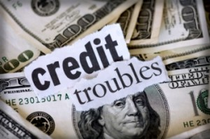 credit troubles over money