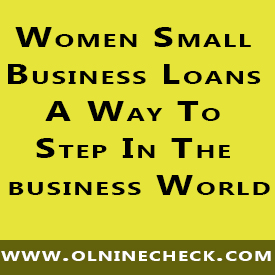 women small business loans