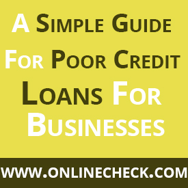 Business Loans for Poor Credit