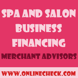 spa and salon financing