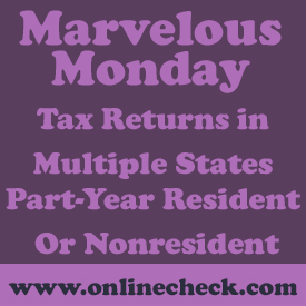 Tax Returns in Multiple States