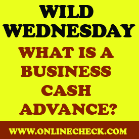 business cash advance