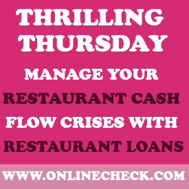 restaurant cash advance